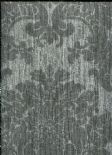 Illusions Foil Damask Silver Wallpaper 294401 By Arthouse For Options